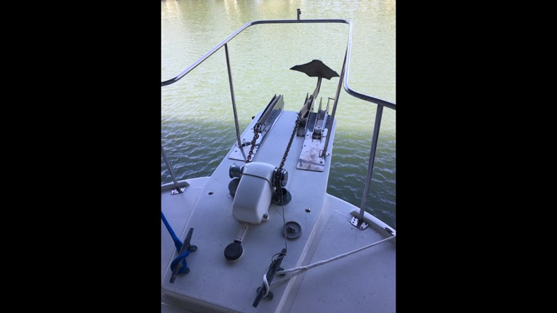 1988 Krogen 36 8 Bow Pulpit and windlass 1988 KADEY KROGEN 36 Manatee Tender 2062741