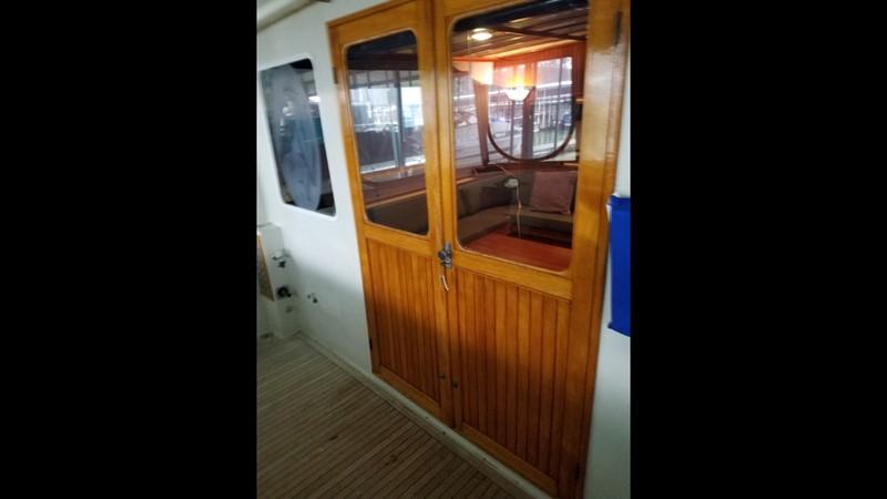 1988 Krogen 36 11 Aft deck double doors 1988 KADEY KROGEN 36 Manatee Tender 2062748