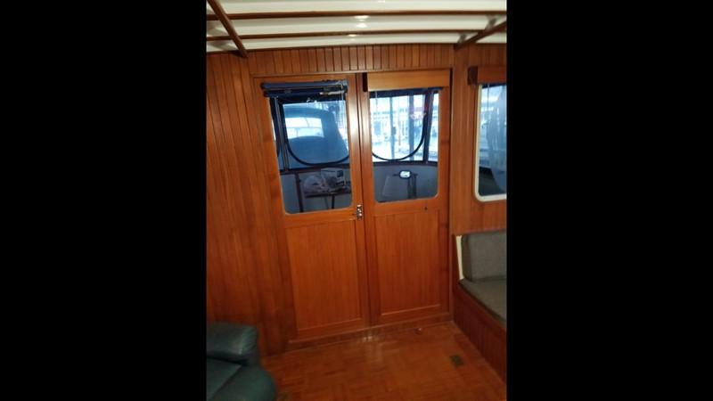 1988 Krogen 36 14 Salon double doors 1988 KADEY KROGEN 36 Manatee Tender 2062753