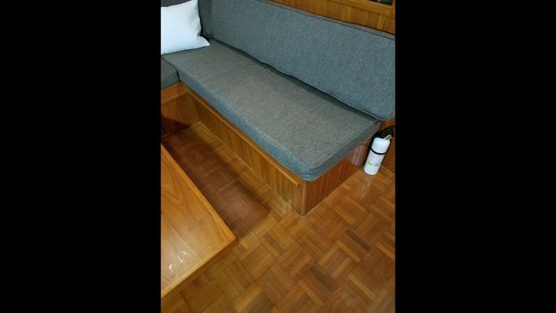 1988 Krogen 36 14 Salon upgraded upholstery 1988 KADEY KROGEN 36 Manatee Tender 2062754