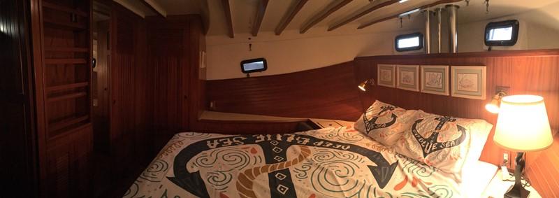 1988 Krogen 36 19 Stateroom Portside View 1988 KADEY KROGEN 36 Manatee Tender 2062766