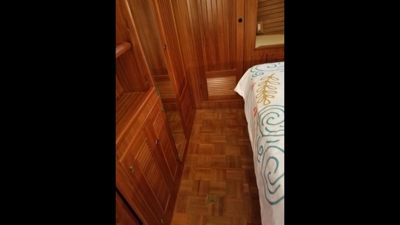 1988 Krogen 36 21 Stateroom Parquets and storage 1988 KADEY KROGEN 36 Manatee Tender 2062769