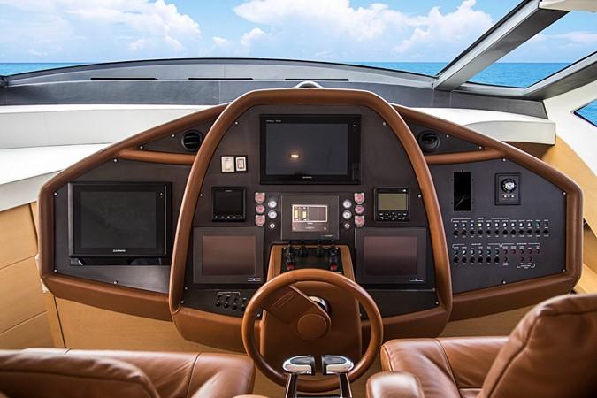 Pilothouse / Helm 2009 PERSHING CRUISER EXPRESS Cruiser 2065048