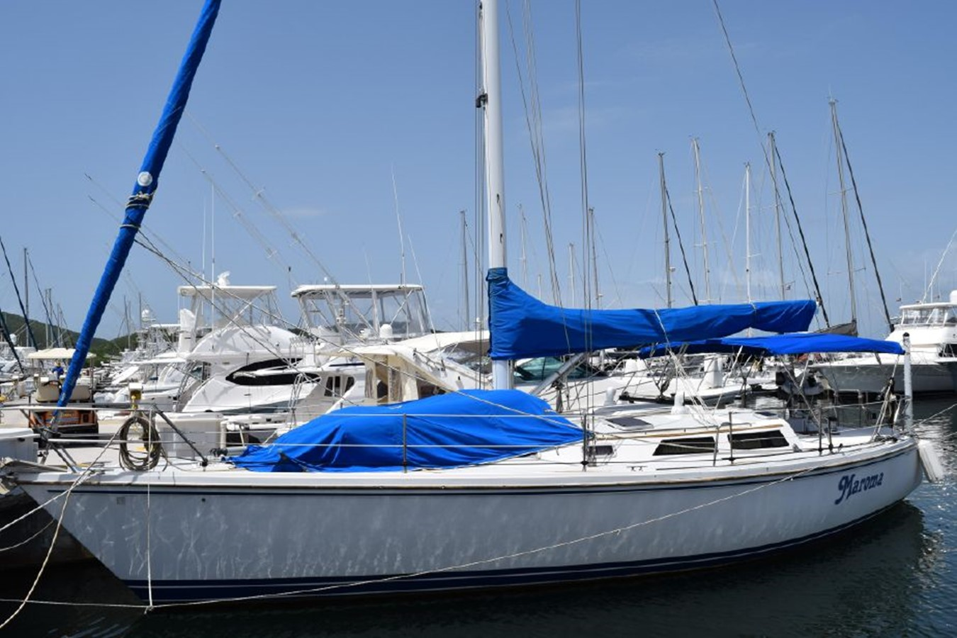 1990 CATALINA 42 Cruising Sailboat 2068106