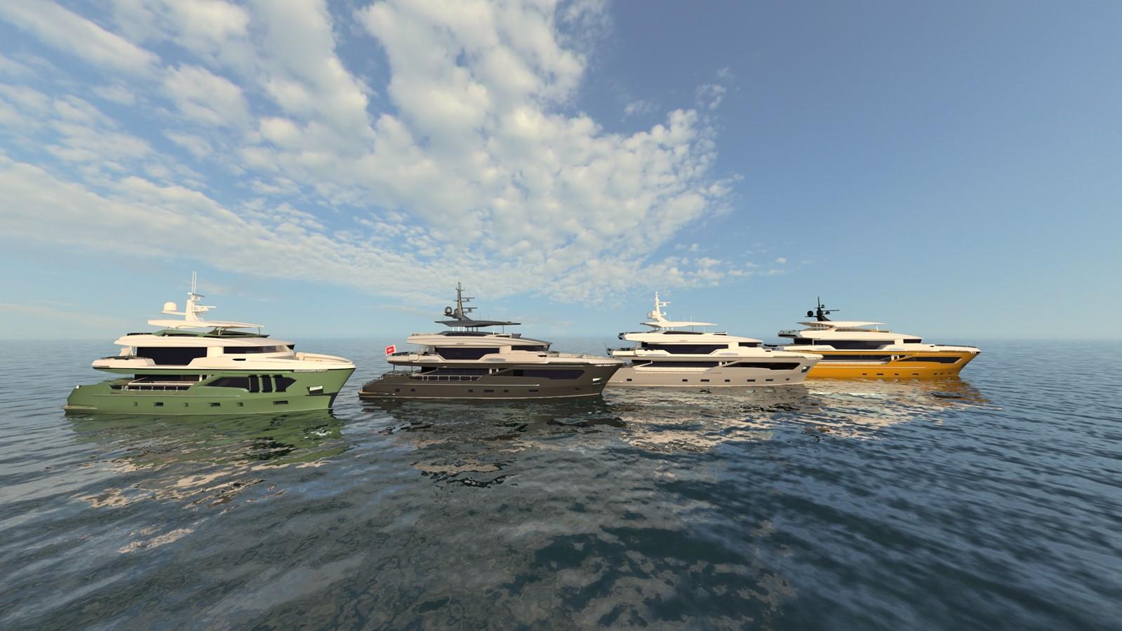 2022 AVA YACHTS Kando 130 Motor Yacht 2392527