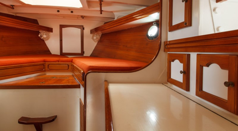 1989 WILLIAMS BOAT WORKS Custom Cuttyhunk 54 Ketch Cruising Ketch 2146218