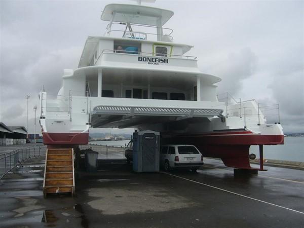 Aft View 2009 CUSTOM Catamaran  2162995