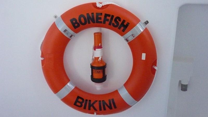 Bonefish Life Ring 2009 CUSTOM Catamaran  2544133