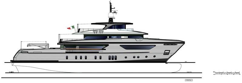 GA - Line profile 2016 SANLORENZO 460 EXP Expedition Yacht 2737524