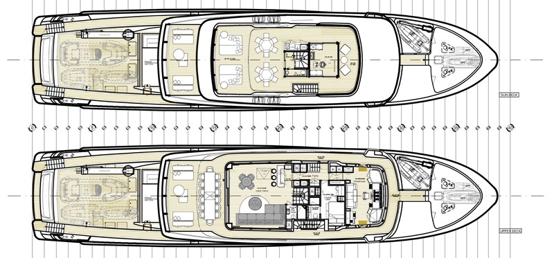 GA - Sundeck, Upper deck 2016 SANLORENZO 460 EXP Expedition Yacht 2737526