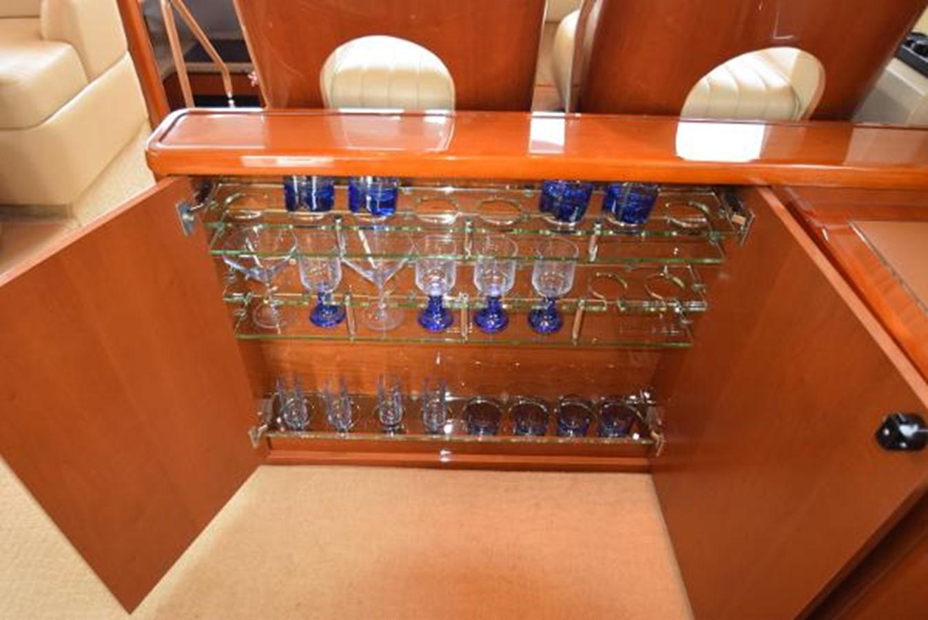 58' Princess - Galley Storage - 58 PRINCESS YACHTS For Sale