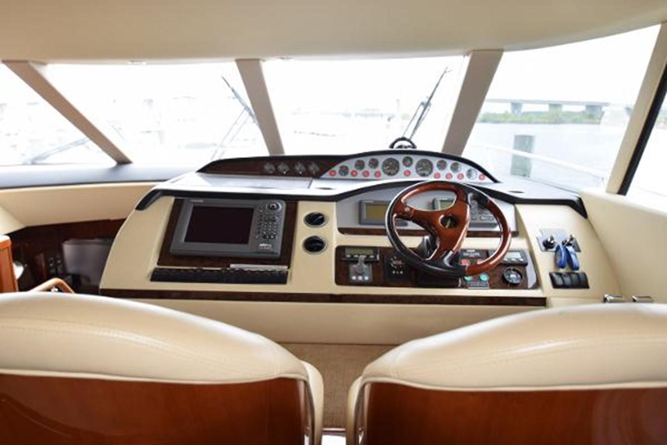 58' Princess - Helm - 58 PRINCESS YACHTS For Sale