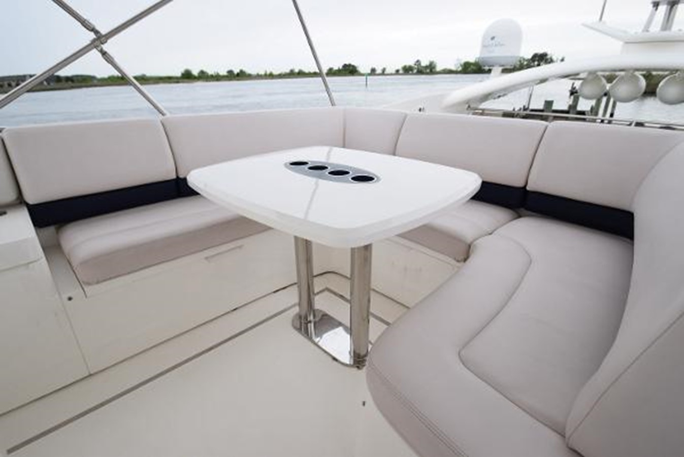 58' Princess - Outdoor Seating - 58 PRINCESS YACHTS For Sale