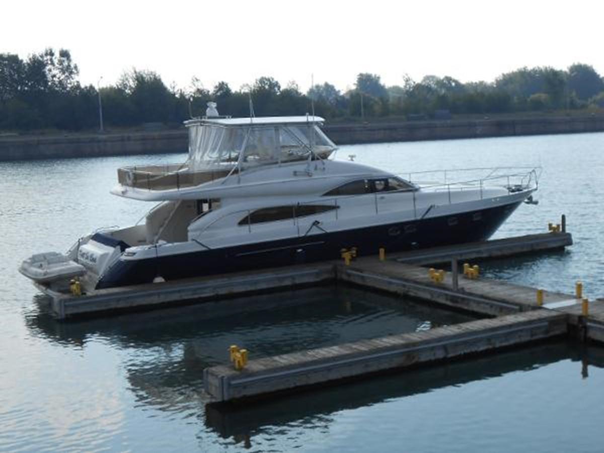 65' Princess Viking - Starboard Profile - 65 PRINCESS VIKING For Sale