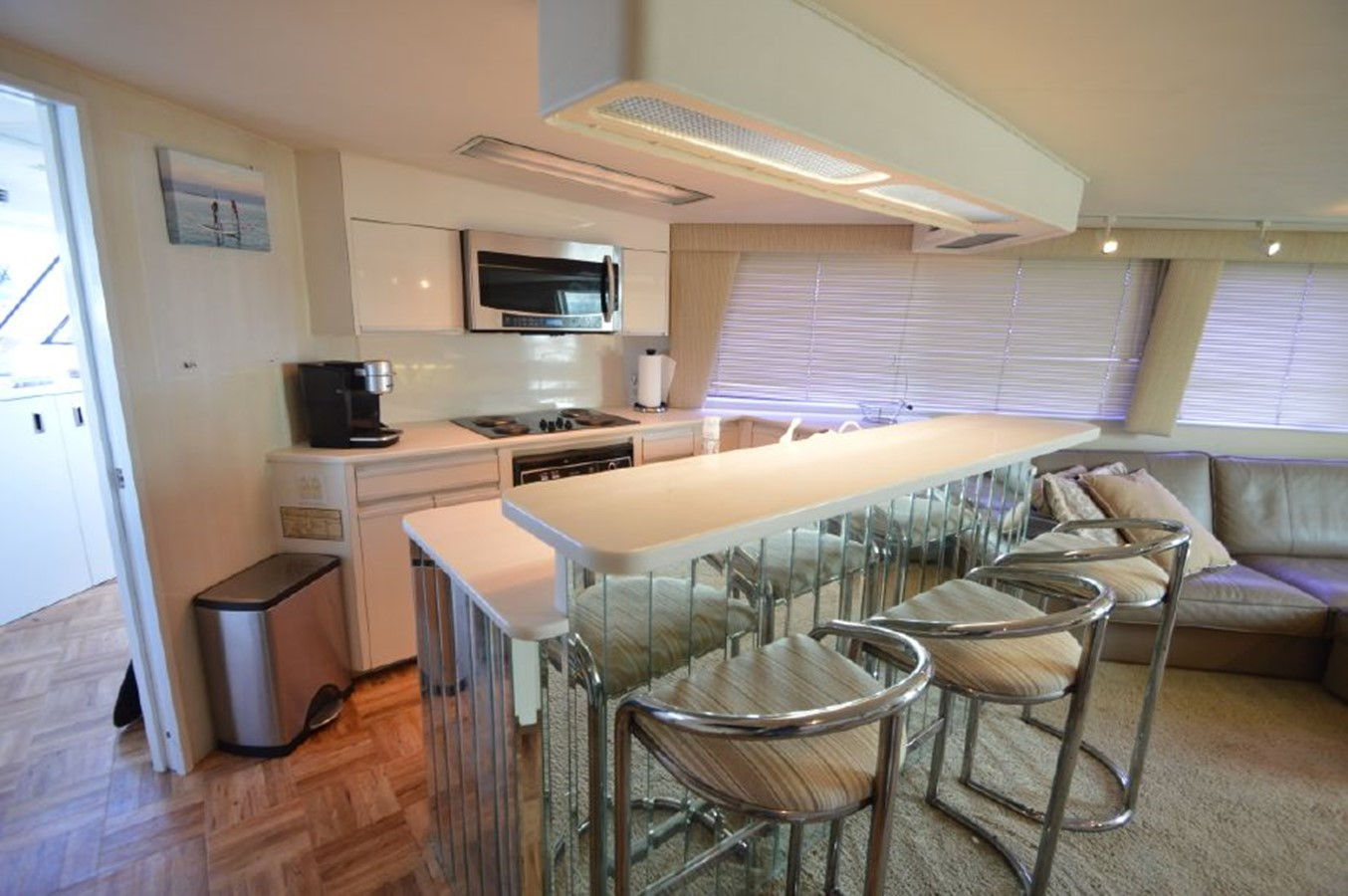 Galley Bar Stools - 54 HATTERAS For Sale