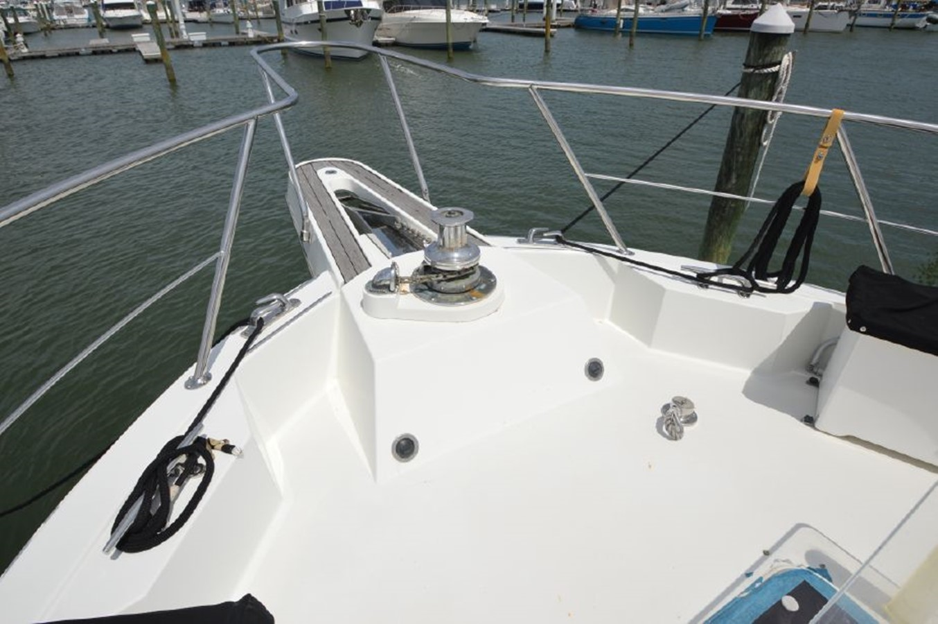 Bow Pulpit - 54 HATTERAS For Sale