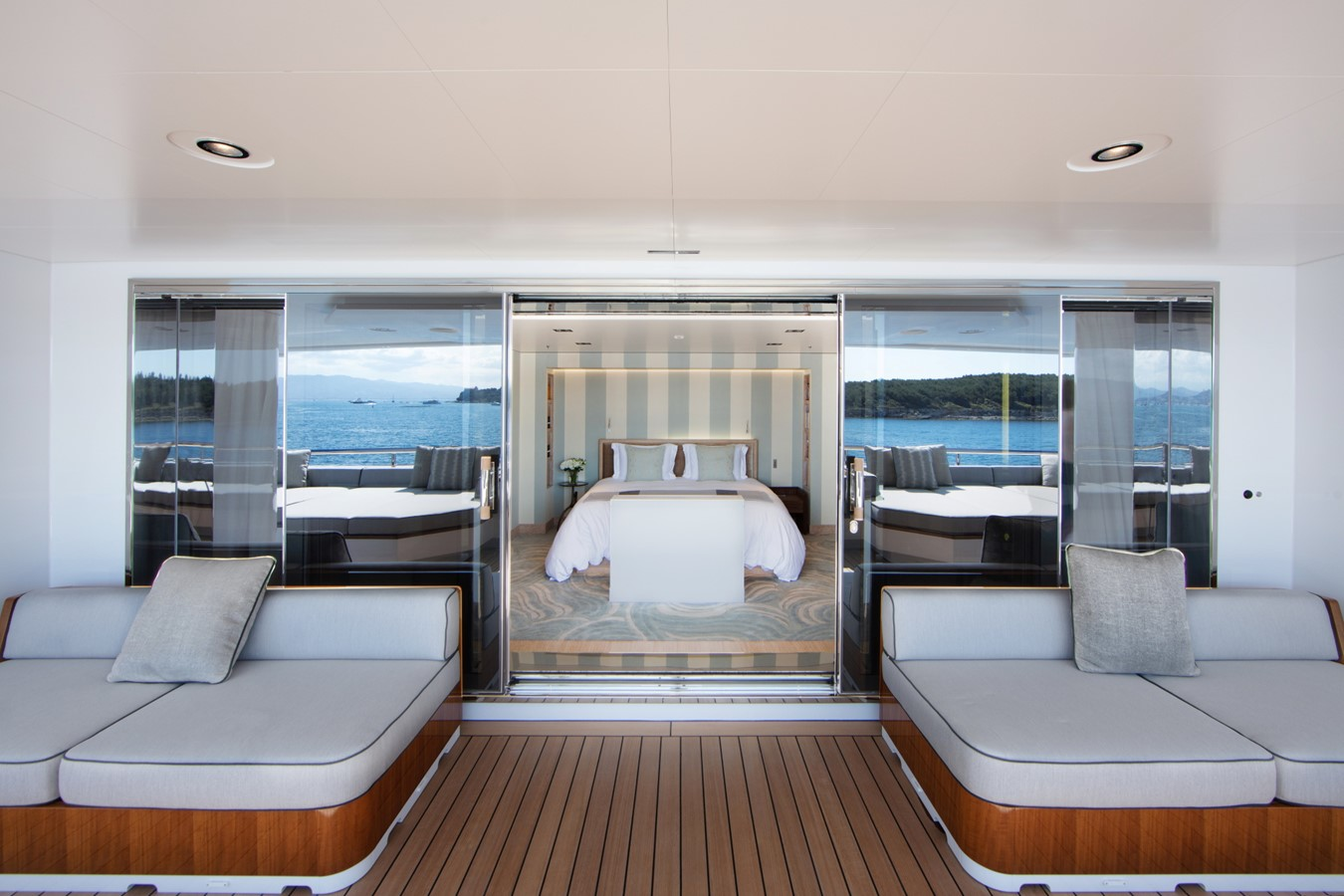 Bridge Deck VIP and Private Outside Deck  2018 ADMIRAL Long Range Motor Yacht Motor Yacht 2172566