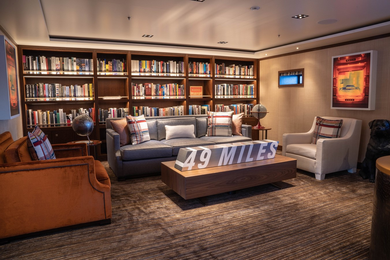 Second Master Stateroom and Lounge 2018 ADMIRAL Long Range Motor Yacht Motor Yacht 2339228