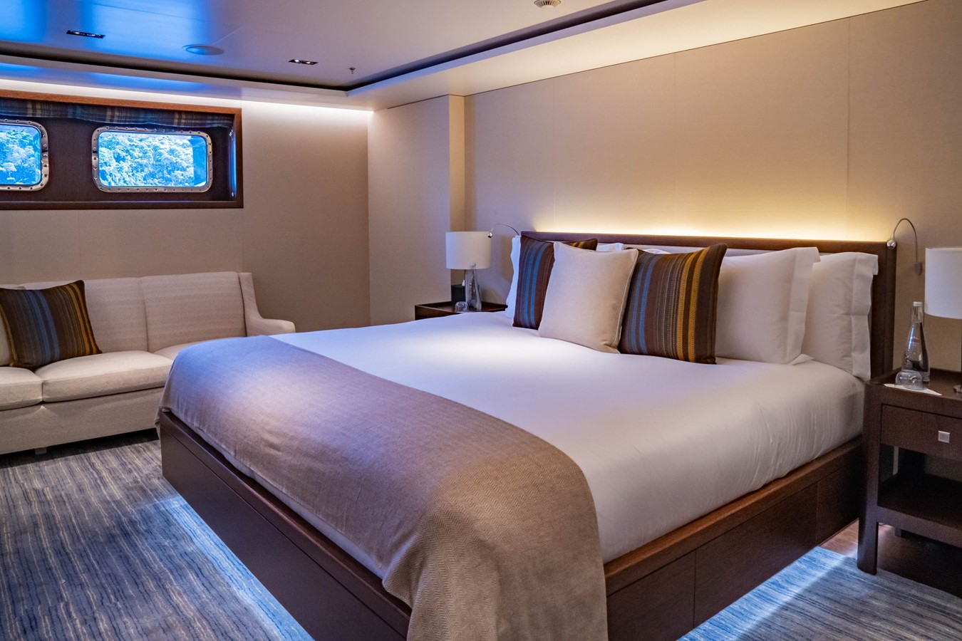 Typical Lower Guest Stateroom  2018 ADMIRAL Long Range Motor Yacht Motor Yacht 2339230