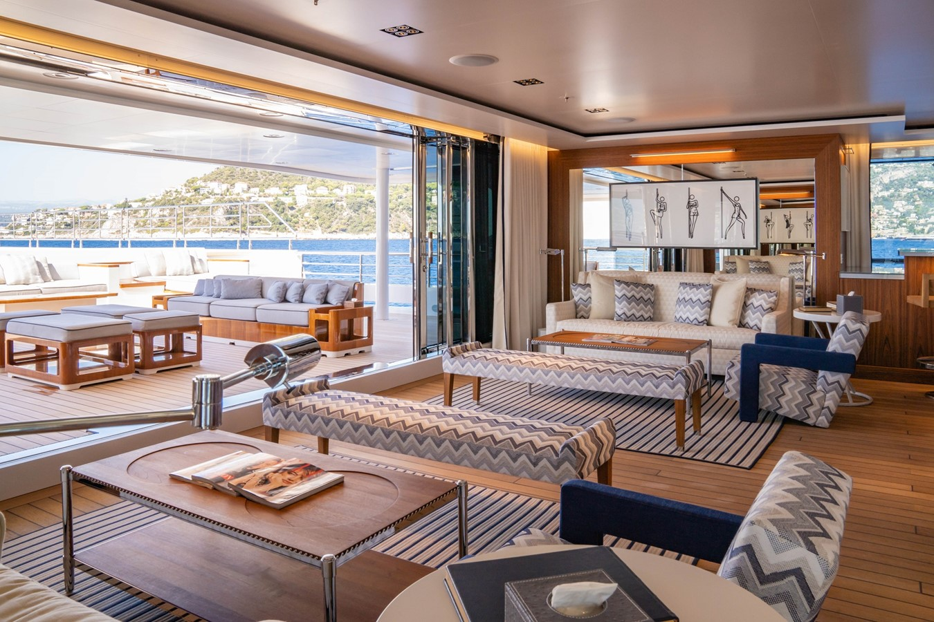 Inside Outside Lounge 2018 ADMIRAL Long Range Motor Yacht Motor Yacht 2339234