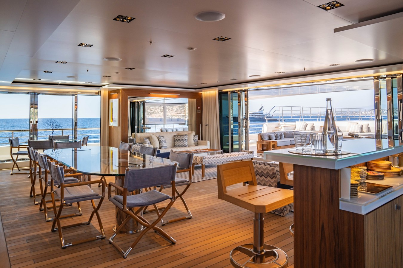 Inside Outside Lounge 2018 ADMIRAL Long Range Motor Yacht Motor Yacht 2339235