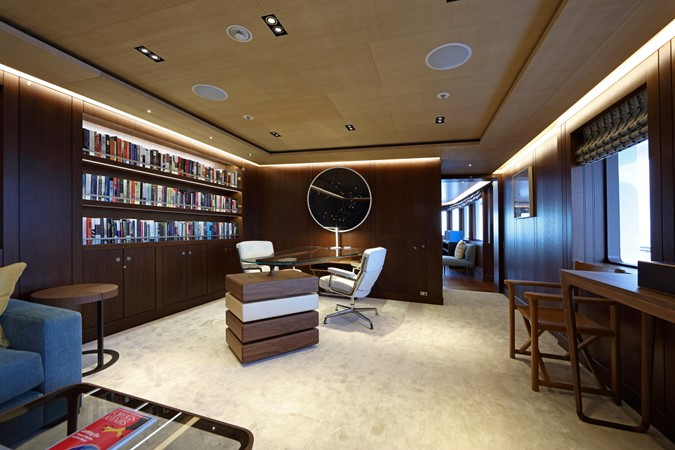 Guest Office Looking Forward  2018 ADMIRAL Long Range Motor Yacht Motor Yacht 2172551