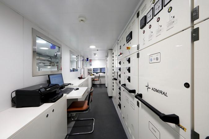 Engine Control Room 2018 ADMIRAL Long Range Motor Yacht Motor Yacht 2172561