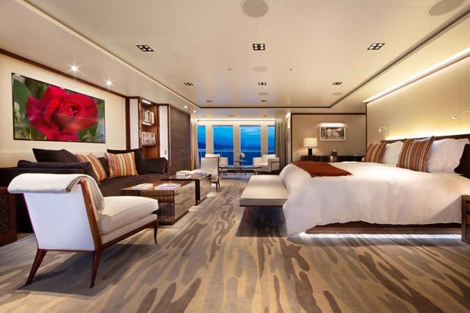 Master Stateroom Looking to Port 2018 ADMIRAL Long Range Motor Yacht Motor Yacht 2172562