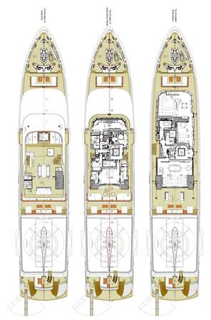 General Arrangement Plan 2018 ADMIRAL Long Range Motor Yacht Motor Yacht 2172599