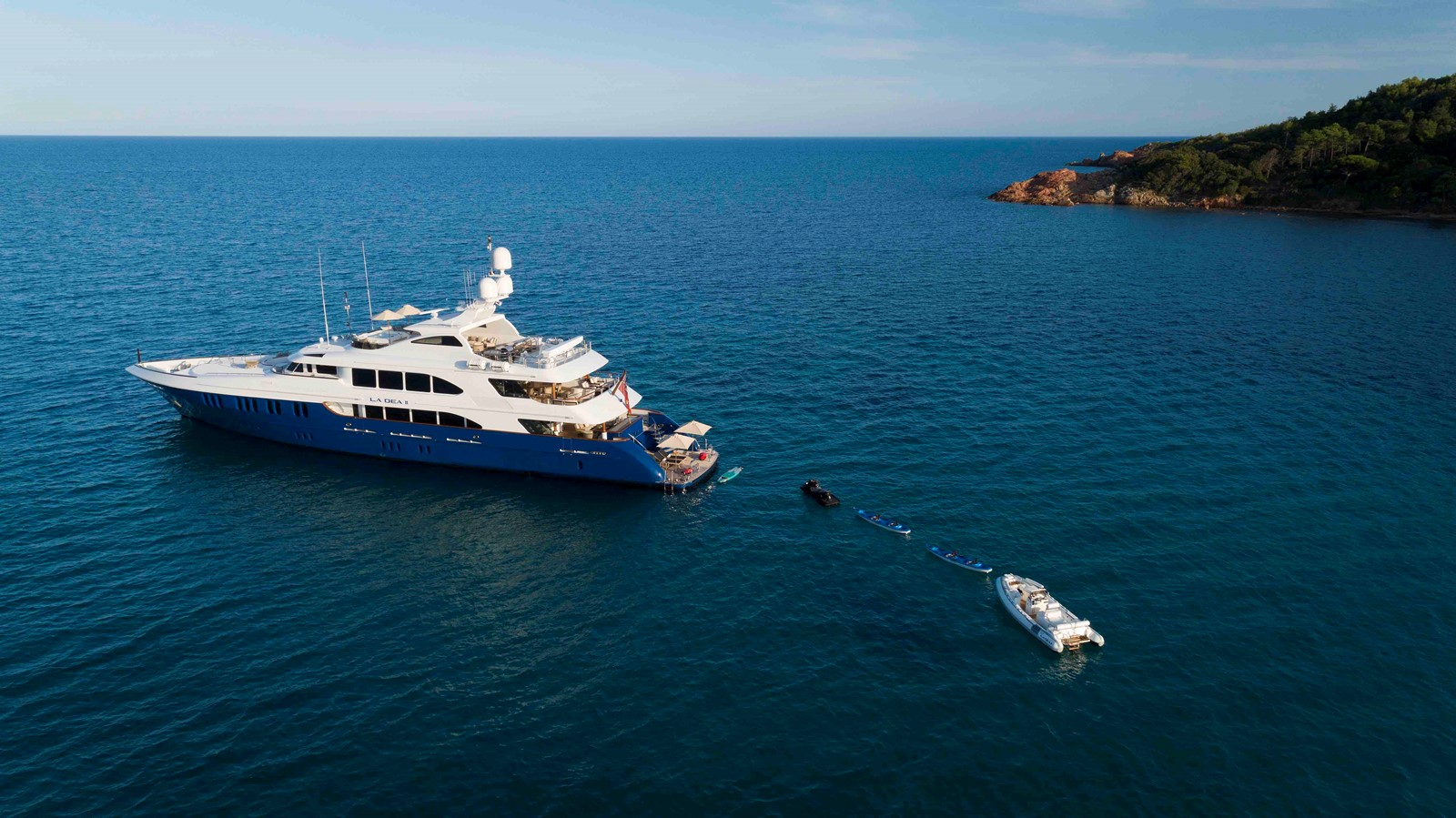 AERIAL PROFILE 2007 TRINITY 161' Trideck Motor Yacht Motor Yacht 2327565
