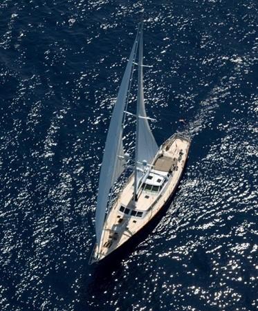 Aerial Sailing 1983 PALMER JOHNSON  Sloop 2180899