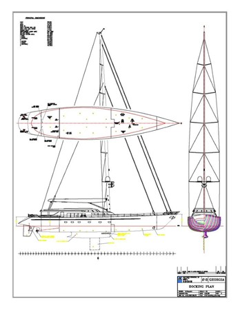 Under Water and Rig 2000 ALLOY  Sloop 2181214