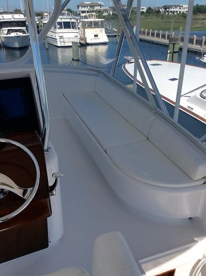 53' Jarrett Bay - Outdoor Seating - 53 JARRETT BAY For Sale