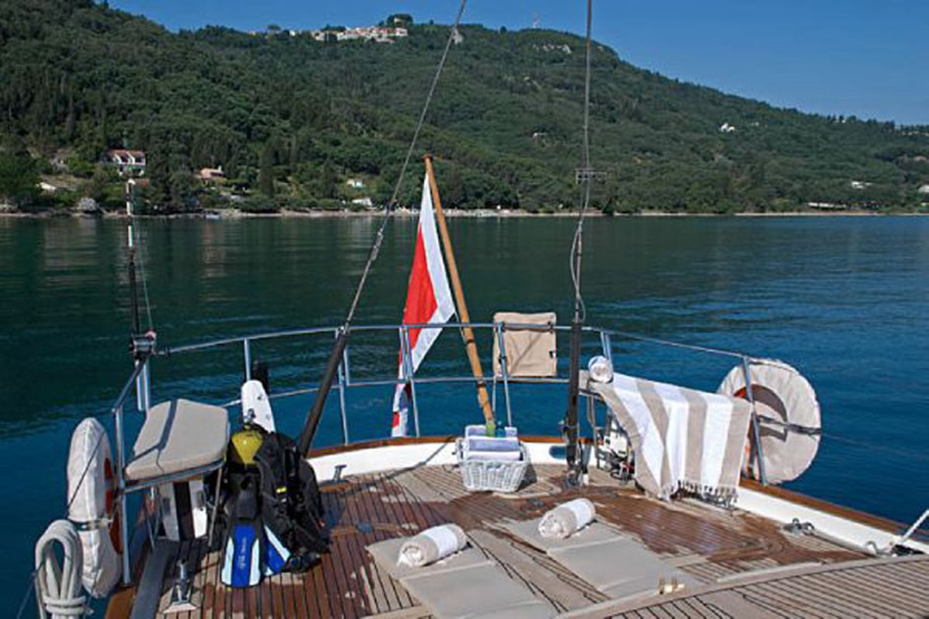 82´Sailing Yacht Tiga Belas Aft deck 2001 AUSTRAL YACHTS  Cutter 2192140