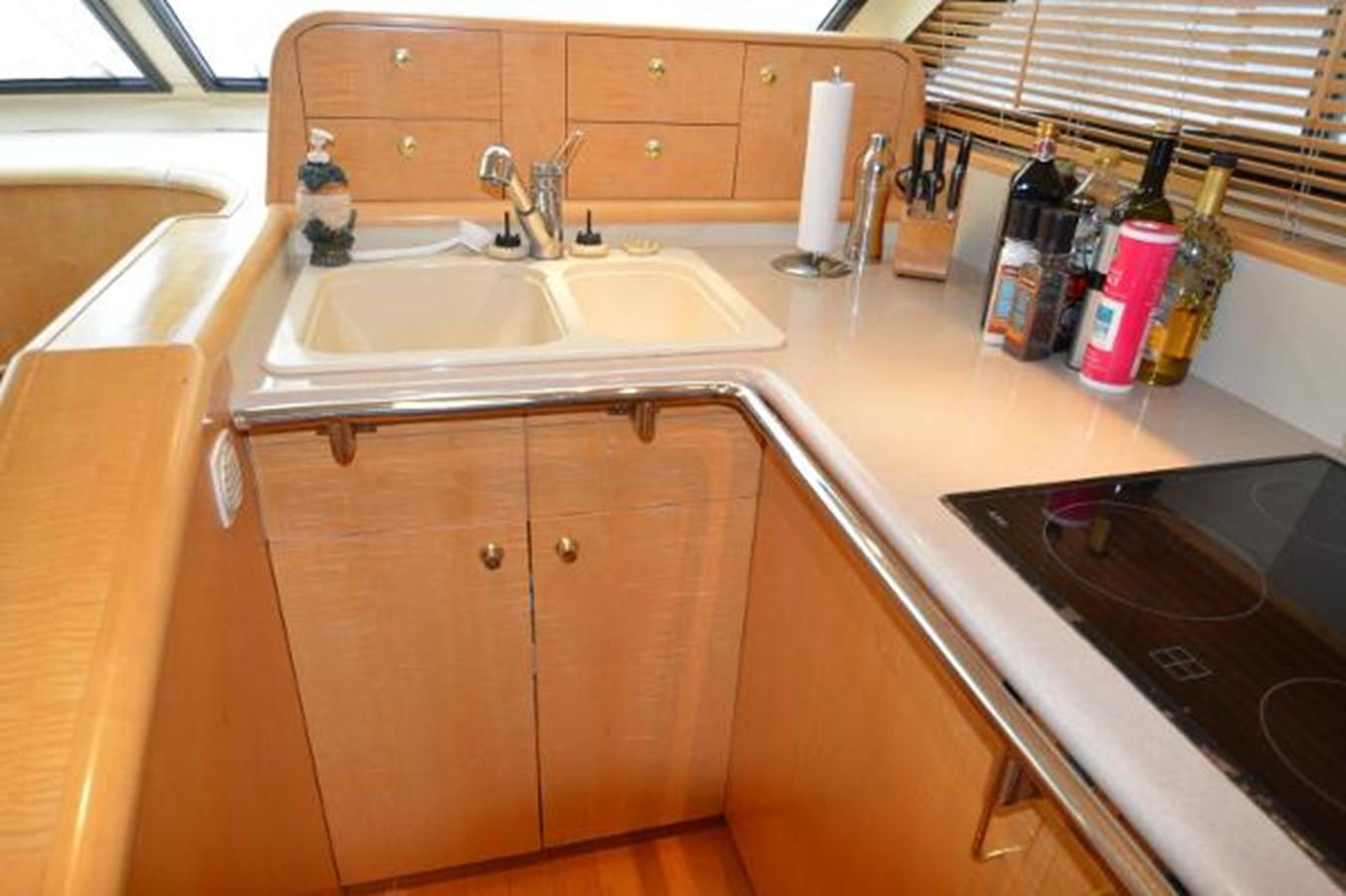 55' Neptunus - Galley Sink & Cabinets - 55 NEPTUNUS For Sale