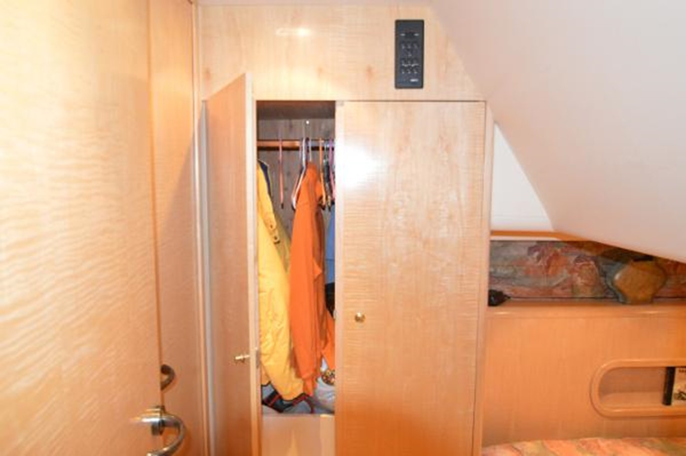 55' Neptunus - Guest Stateroom Hanging Locker - 55 NEPTUNUS For Sale