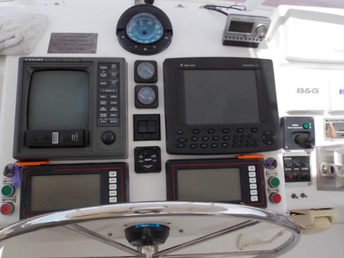 55' Neptunus - DDEC Engine Monitors - 55 NEPTUNUS For Sale