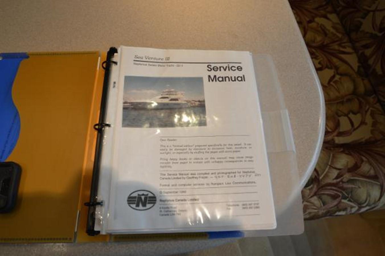 55' Neptunus - Original Service Manual - 55 NEPTUNUS For Sale