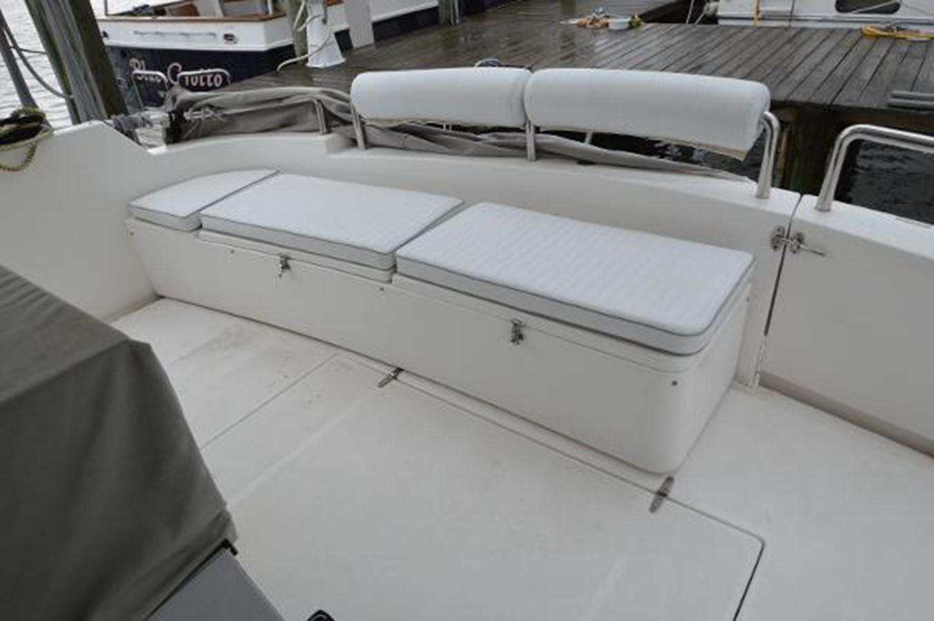 55' Neptunus - Aft Deck Seating - 55 NEPTUNUS For Sale