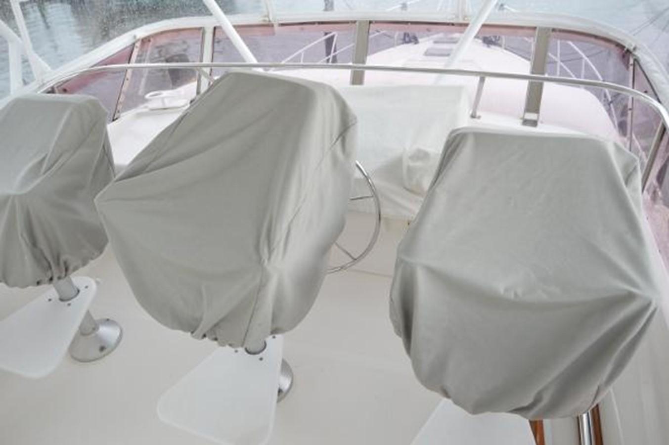 55' Neptunus - Flybridge Helm Covers - 55 NEPTUNUS For Sale