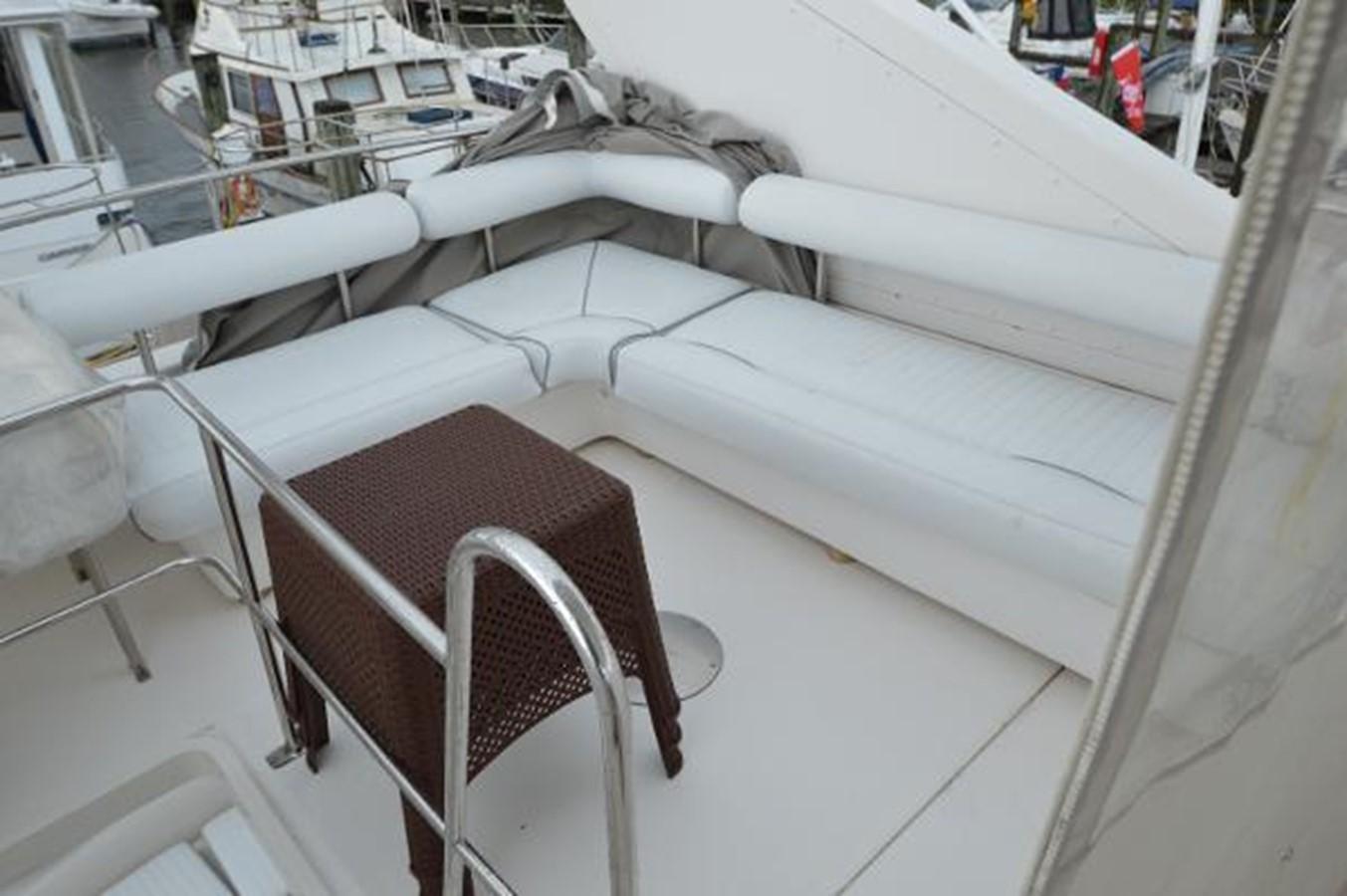 55' Neptunus - Flybridge Passenger Lounge - 55 NEPTUNUS For Sale