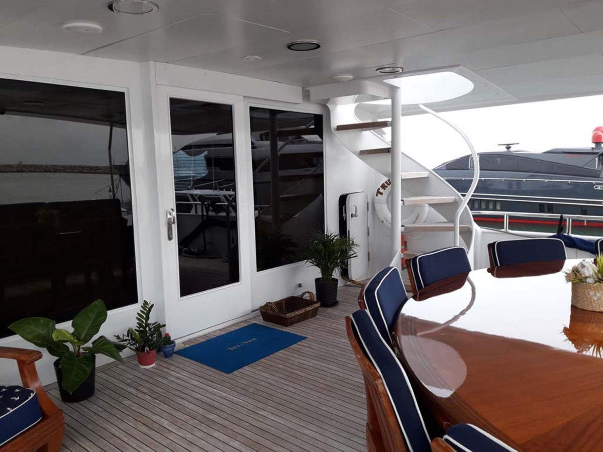 Main Deck Aft 2001 BROWARD Raised Pilothouse MY  2193581