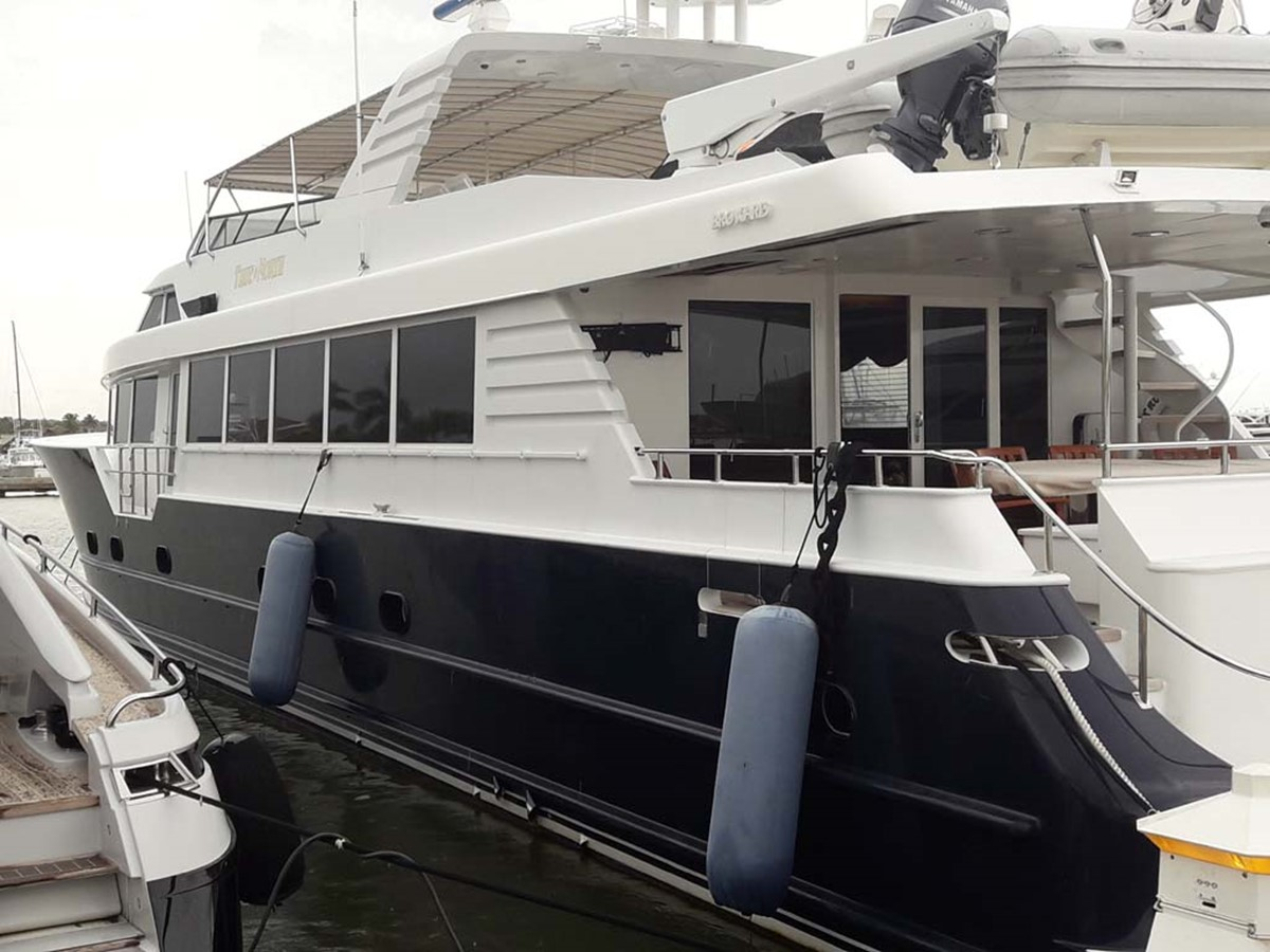 Port Side 2001 BROWARD Raised Pilothouse MY  2193596