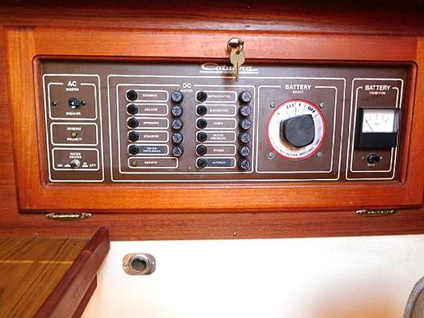 36&apos Catalina breaker panel  1986 CATALINA 36  2195615
