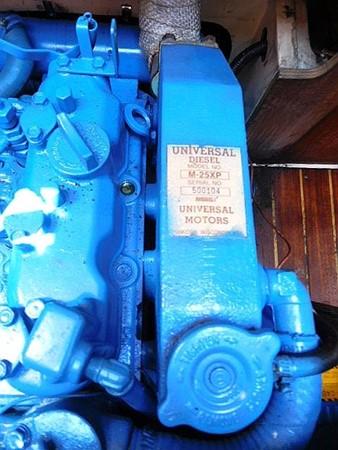 36&apos Catalina engine top view  1986 CATALINA 36  2195623