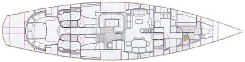 2001 Austral Yachts Dixon 80 Cruising Sailboat 2316711