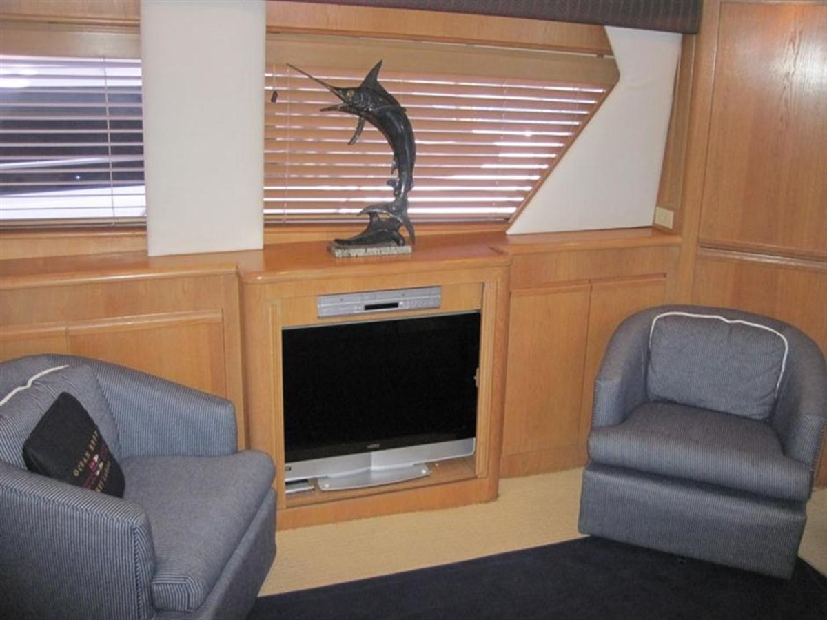 Salon 1997 HATTERAS Enclosed Bridge w/tower Sport Fisherman 2201593