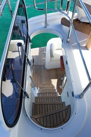 Stairs to stern  2015 AZIMUT Magellano 43 Motor Yacht 2202981