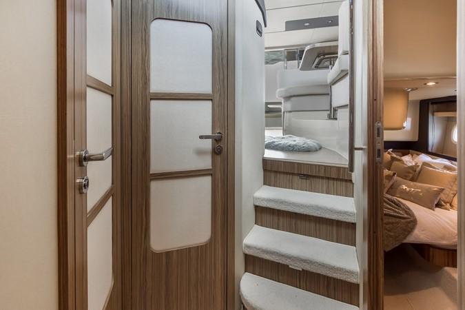 Stairs to stateroom  2015 AZIMUT Magellano 43 Motor Yacht 2202995