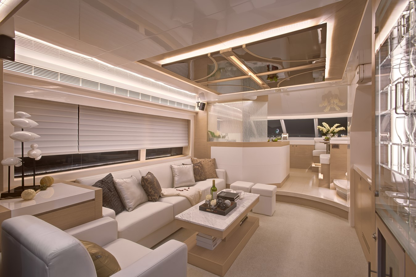 Main Salon  2021 HORIZON E62 Motor Yacht 2205337